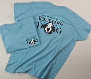 Boatyard Dog® T-Shirt (Ladies)