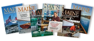 Latest Issue of Maine Boats, Homes & Harbors Magazine
