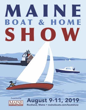 2019 Maine Boat & Home Show Poster