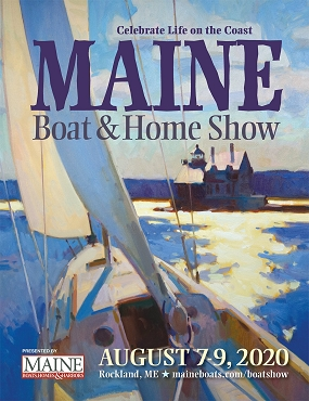 2020 Maine Boat & Home Show Poster